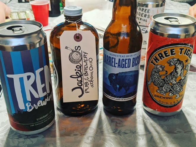 This month's selection of porters and stouts from the Brew Crew include options from Jackie O's, Homestead, Three Tigers Brewing, Trek, and Granville Brewing.