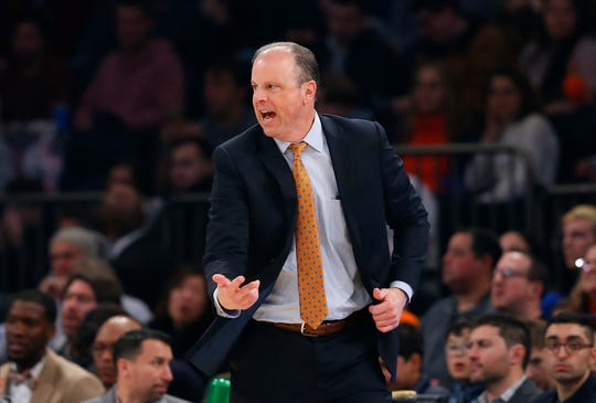 """New York Knicks interim head coach Mike Miller has told his players that they now have a """"27-game season"""" with their all-star break ending on Friday."""