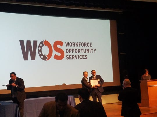 Saddle Brook resident Matthew Cofrancesco was among the 43 graduates of the PSE&G-Workforce Opportunity Services program. He was in public relations for two years before discovering the program.