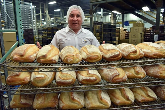 "Anthony and Sons Bakery produces over 10,000 loaves of bread daily in their Denville factory. Producing hundreds of products and artisan specialties. ""This bread put us on the map,"" said Nick Sorressee of Pane Di Casa."