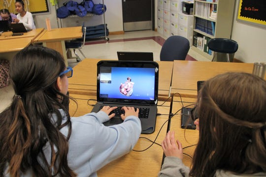 Alamogordo Public Schools began using zSpace technology at the beginning of the 2019-2020 school year to teach students sciences, social studies and more.