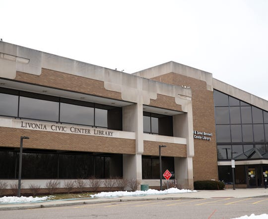 The Livonia Civic Center Library will be closed through April 5.