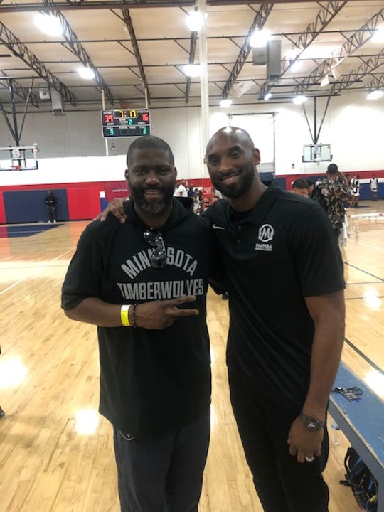 J.R. Rider recalls how he would chat with former Los Angeles Lakers' teammate Kobe Bryant when Bryant was in the Valley for youth basketball events.