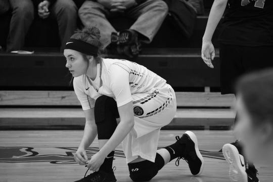 Emma Gillies is a junior on the Armada girls basketball team this winter.
