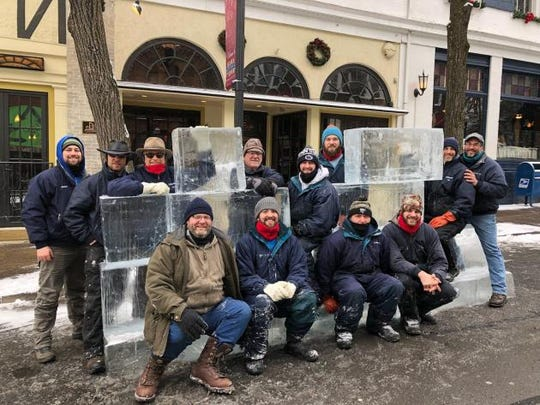 DiMartino Ice Company will travel from the Pittsburgh area to Chambersburg with a team of about 10 ice sculptors to carve creations out of more than 30 tons of ice at IceFest.