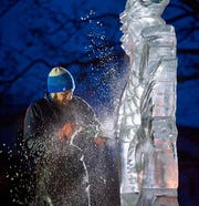 Jared DiMartino began carving ice for his family business when he was just 14 years old. Today, he enjoys the challenge of creating ice sculptures that require precision and detail.