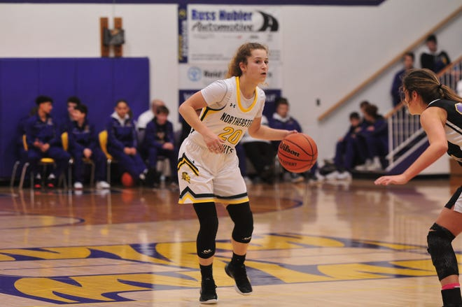 Northeastern's comeback fell short as they lost 55-48 to Class 2A No. 5 Shenandoah in the sectional 41 championship on Saturday, Feb. 8, 2020.