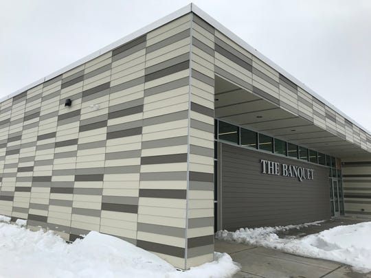 An exterior photo of The Banquet's western Sioux Falls location, which is opening soon.