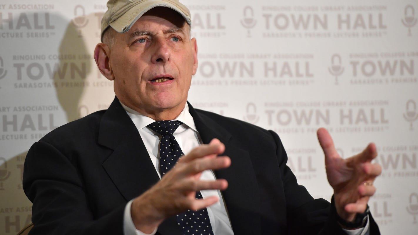 Partisan anxieties surface during John Kelly appearance in Sarasota
