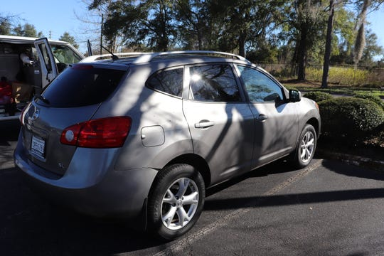 Tallahassee Police released images of Spooner and his car, a silver 2008 Nissan Rogue, which had temporary tags.