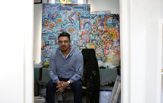 Diego Martinez is an El Paso artist and co-owner of Galeria Lincoln at 3915 Rosa Ave.