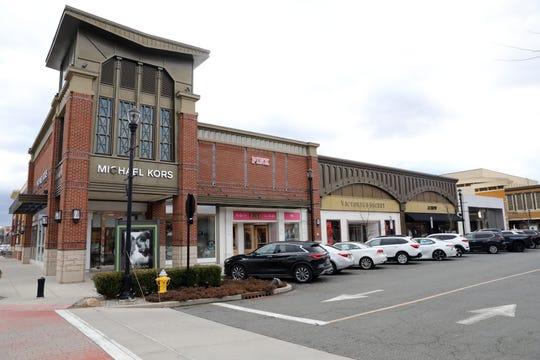 The Shops at Nanuet, an outdoor mall in Nanuet, Jan. 27, 2020.