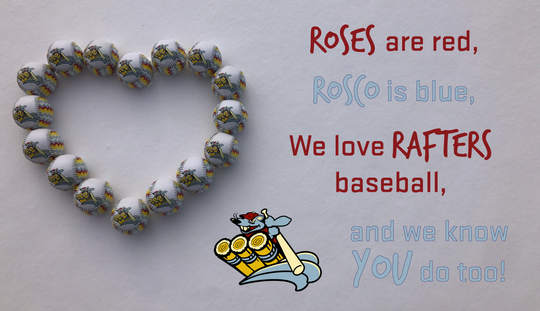 The Wisconsin Rapids Rafters announced Valentine's Day specials.