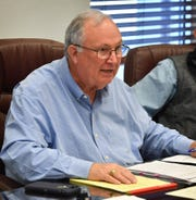 Clay County Judge Mike Campbell, show in this Jan. 27, 2020, file photo.