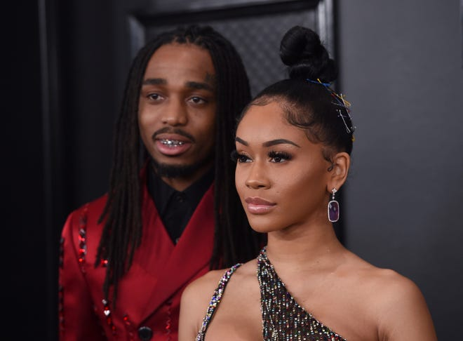 Saweetie and Quavo have officially called it quits.