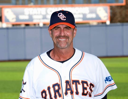 This undated photo released by Orange Coast College shows its head baseball coach John Altobelli. John Altobelli, his wife Keri and daughter Alyssa were among those killed in the helicopter crash with NBA icon Kobe Bryant and his daughter Gianna in Calabasas, Calif., Sunday, Jan. 26, 2020.