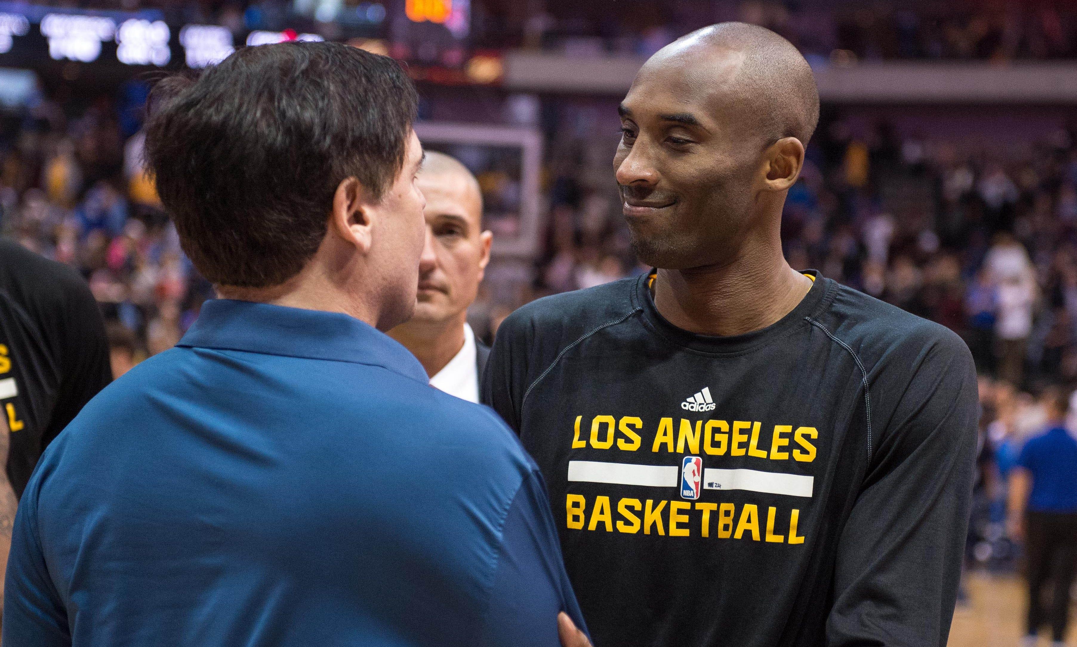 Cuban後悔終生:07年湖人都同意交易Kobe,誰知道Logo男找Kobe聊天,然後就沒有然後了!-黑特籃球-NBA新聞影音圖片分享社區