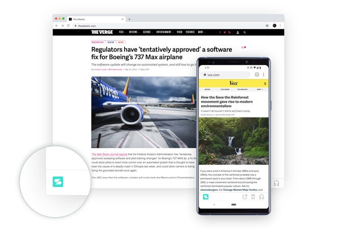 A new service called Scroll is offering readers of participating news websites an advertising-free experience for $4.99 per month. the revenue is shared with the news companies.