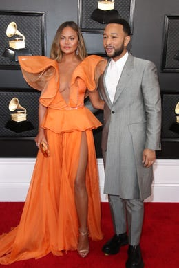 """In a September 2020 interview with&nbsp;<a href=""""https://www.marieclaire.com/celebrity/a33864570/chrissy-teigen-interview-2020/"""" target=""""_blank"""">Marie Claire</a>, Chrissy Teigen recalled a time when her and her husband John Legend were harassed&nbsp;by two &quot;neighborhood-watch-type&quot; white men in Virginia, calling the incident&nbsp;her &quot;first taste of seeing what happens to Black men every day.&quot;"""