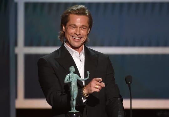 Brad Pitt has already won awards season. Is an Oscar next?