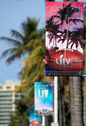 South Beach figures to be a popular spot for NFL players and party-goers in the week leading up the Super Bowl LIV.