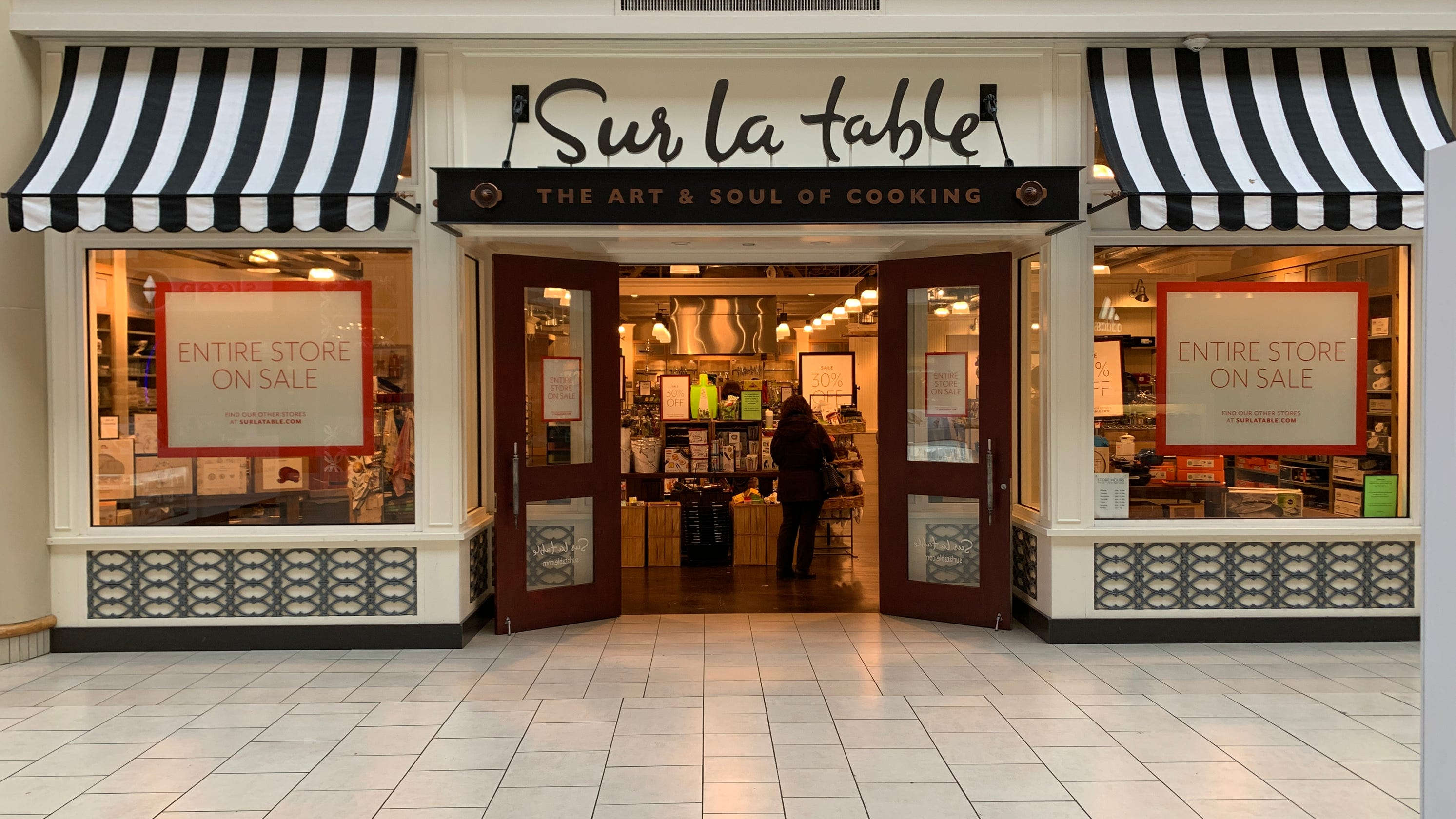 Sur La Table files for bankruptcy protection, plans to close nearly half of its stores. Here's the list. - USA TODAY
