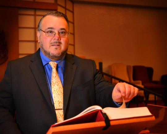 Rabbi Craig Mayers of Temple Beth Sholom in Suntree.