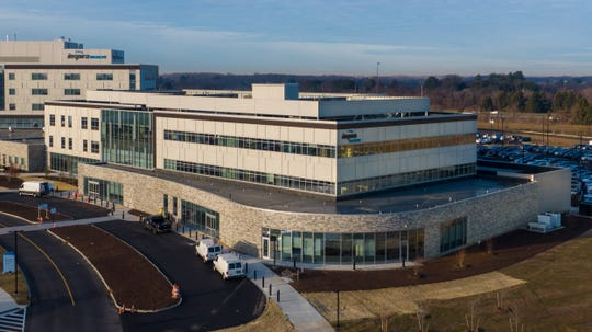 Inspira Health expects to open its new Mullica Hill cancer treatment center in February. The center is attached to Inspira's new hospital on Routes 322 and 55.