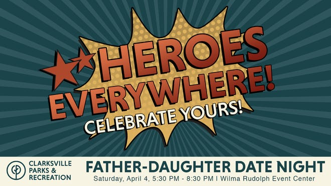 Clarksville Parks and Recreation to host Father-Daughter Date Night