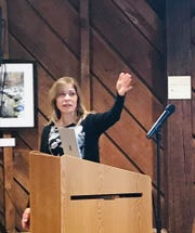 """Josephine """"Jo"""" Allen shared her story Jan. 22 at a lecture hosted by the organization in Princeton."""