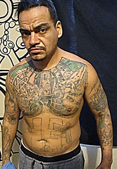 A photo provided by U.S. Customs and Border Protection shows Juan Carlos Alvarez-Robles, 38, of Mexico who was arrested Jan. 23 in Toledo, Ohio. Officials say he is a MS-13 gang member in the U.S. illegally and has been removed 5 previous times.