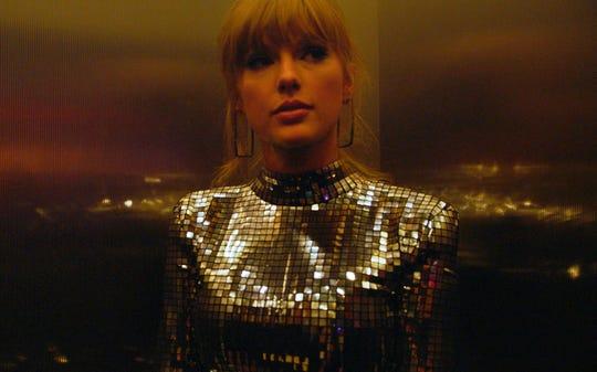 "Taylor Swift in ""Miss Americana."""