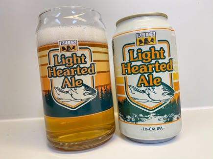 Bell's Light Hearted Ale is a low-carb, low-calorie variant of its reknowned Two Hearted Ale. It hits stores and pubs this week.