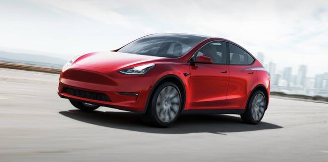 Tesla's Model Y crossover.
