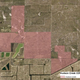 Map showing the proposed Hudson Creek community in the north end of Cape Coral. It could mean 1,330 mult-family units and 2,515 single-family homes off Jaracanda Parkway betweek Ekdorado Boulevard and Chiquita Boulevard.