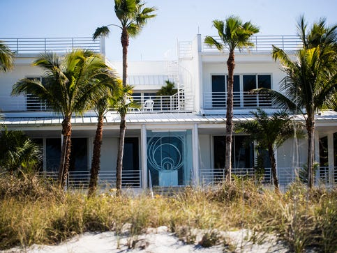Robert Rauschenberg's former Captiva home sold for $4.25 million on Jan 10, 2020. Photographed on Jan. 28, 2020. Rauschenberg was a famous artist. He died in 2008.