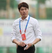 """Sang Hoon Kim, currently Guam Football Association Technical Director, is shown in this file photo courtesy of Kim. As a professional coach and instructor, Kim will conduct a GFA """"D"""" Coaching Certificate Course beginning Feb. 1 at GFA."""