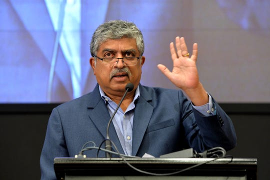 """Co-founder of Infosys Nandan Nilekani said after """"an exhaustive and rigorous investigation,"""" allegations of misconduct and financial impropriety against the company's executives were found to be without merit."""