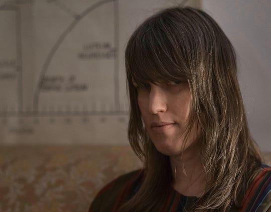 Composer Sarah Hennies.