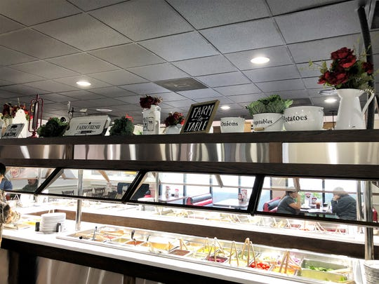 "The Fresh Food Bar at Shoney's on Chapman Highway was completely remodeled. ""We spent over $50,000 putting in new systems to keep the food hot, and a lot of the equipment has been updated to ensure quality and prevent health issues,"" said Leslie. ""We are very strong on those things. You have to be."""