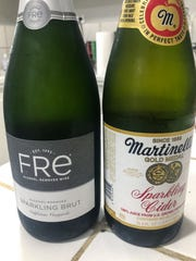 You can find Fre Sparkling Wine at Marcello's as well as Amazon.