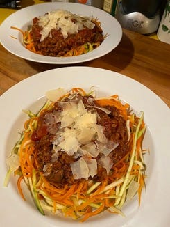 A ragu can bring slow cooked flavors to pasta or shredded steamed veggies.