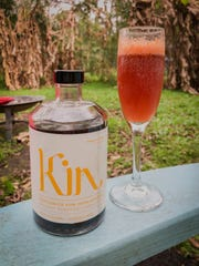 Kin drinks contain a mix of caffeine, B vitamins and adaptogens such as Rhodiola and ashwagandha.