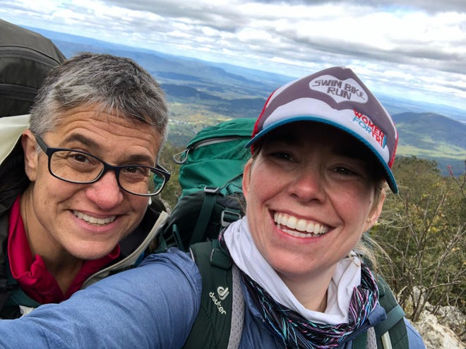 Wendy Dorfman and Allison Nederveld co-own the new outdoor gear consignment shop SugarWolf Outdoor Exchange. Friday through Sunday will have consignment hours.
