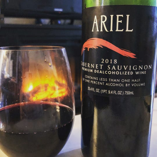 Ariel's upfront taste was dry and had similar flavor notes as a regular cabernet.