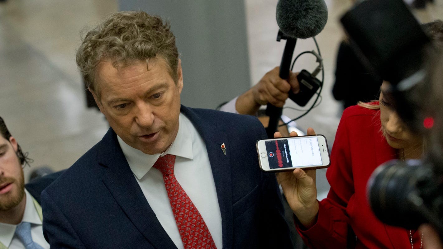 'That is defamation': Rand Paul furious at Schumer over comments about Trump's kids