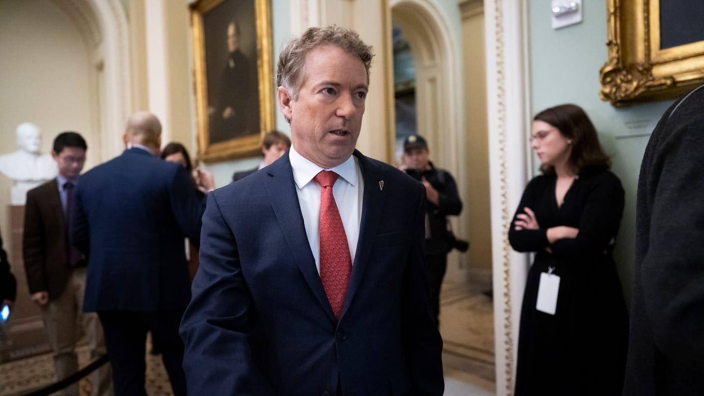 Rand Paul's coronavirus infection sends shockwaves through Senate during major stimulus debate