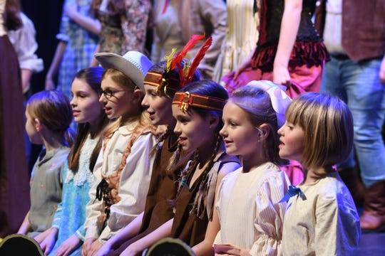 "Members of the Renaissance Youth Opera will perform ""Annie Get You Gun"" on Saturday and Sunday at the Renaissance Theatre."