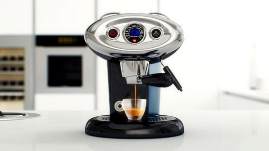 The X7.1 iperEspresso Machine is perfect for those who need a shot of caffeine.