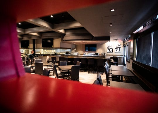 Located in the space that was formerly a Pei Wei restaurant, Takashi Bistro features an open kitchen for customers to watch the chefs in action.